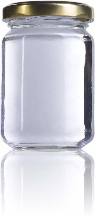 STD 156-156ml-TO-053-envases-de-vidrio-tarros-frascos-de-vidrio-y-botes-de-cristal-para-alimentación
