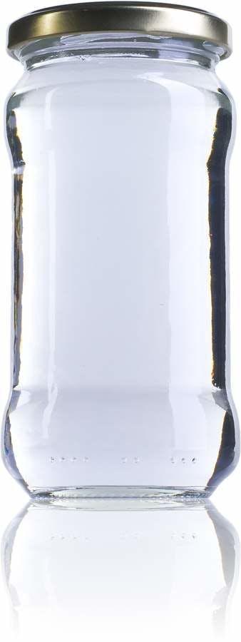 Super 370-370ml-TO-063-envases-de-vidrio-tarros-frascos-de-vidrio-y-botes-de-cristal-para-alimentación
