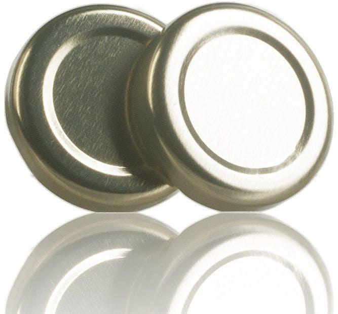Lid TO 43 Golden Sterilisation without button  MetaIMGIn Tapas de cierre