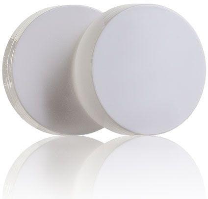 White Plastic Lid for Yogurt Jar