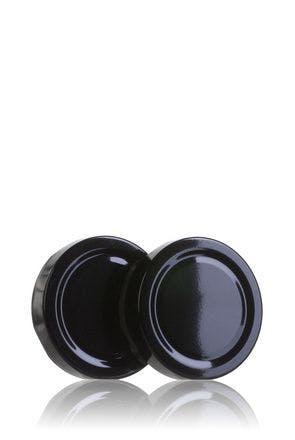 Couvercle TO 58 haute Noir Pasteurisation ESBO BPAni   MetaIMGFr Tapas de cierre
