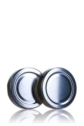 Couvercle TO 58 haute Argent Pasteurisation ESBO BPAni   MetaIMGFr Tapas de cierre