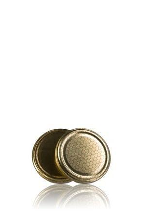 Couvercle TO 63 Alvéole Pasteurisation sans bouton  MetaIMGFr Tapas de cierre