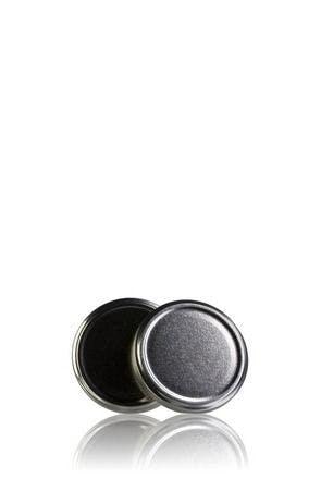 Couvercle TO 63 Argent Pasteurisation sans bouton  MetaIMGFr Tapas de cierre