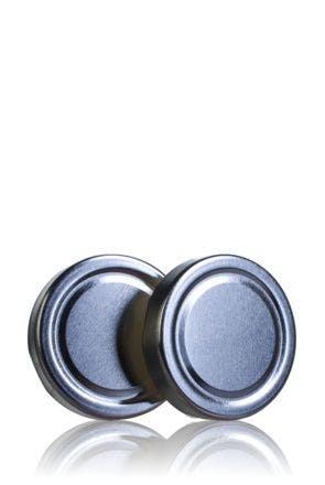 Lid TO 66 DWO silver Pasteurization BPani
