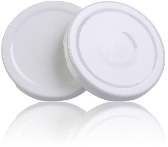 Tapa TO 66 Blanco Pasteurización con botón