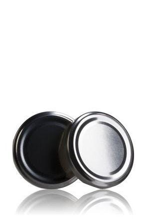 Couvercle TO 66 Argent Pasteurisation sans bouton  MetaIMGFr Tapas de cierre