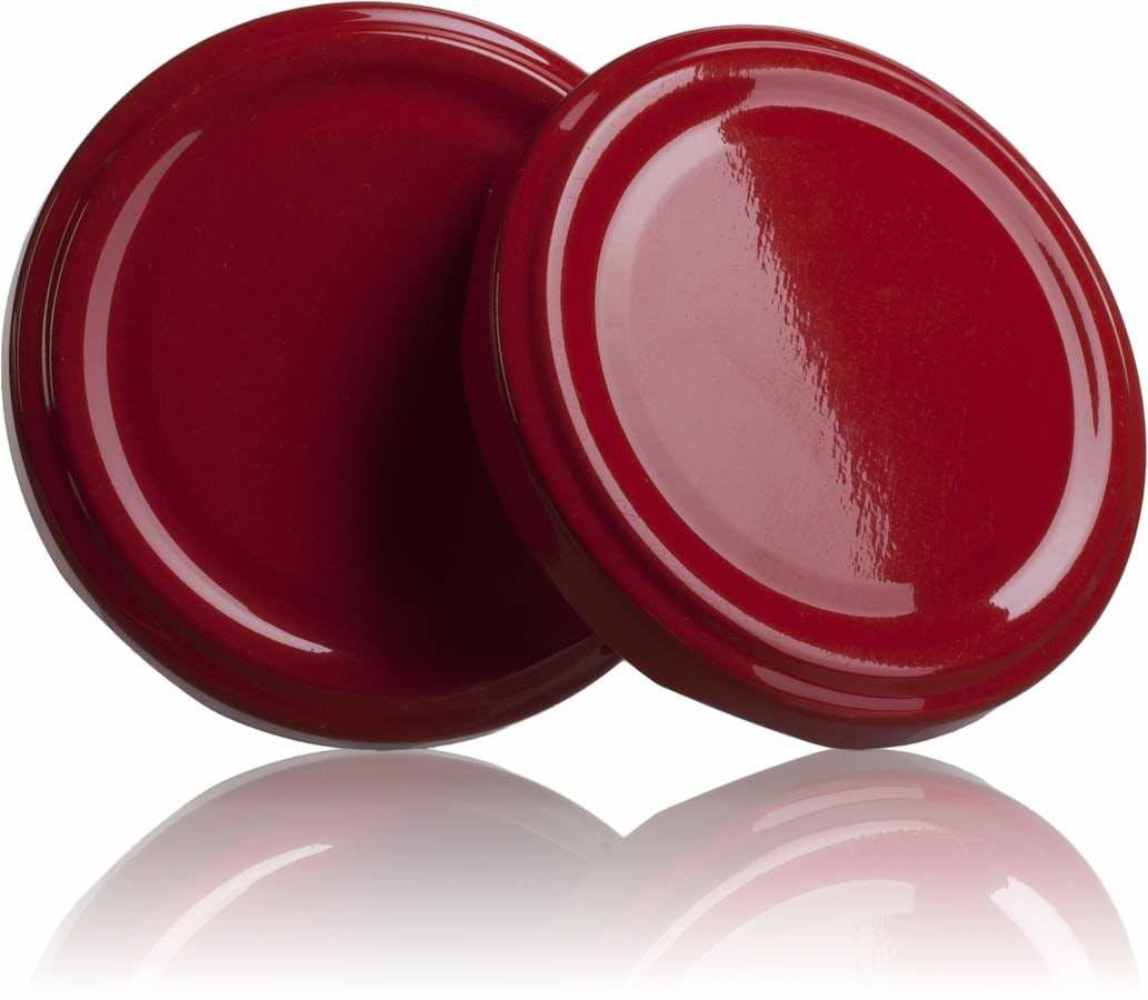 Tapa TO 66 Rojo Pasteurización sin boton -sistemas-de-cierre-tapas