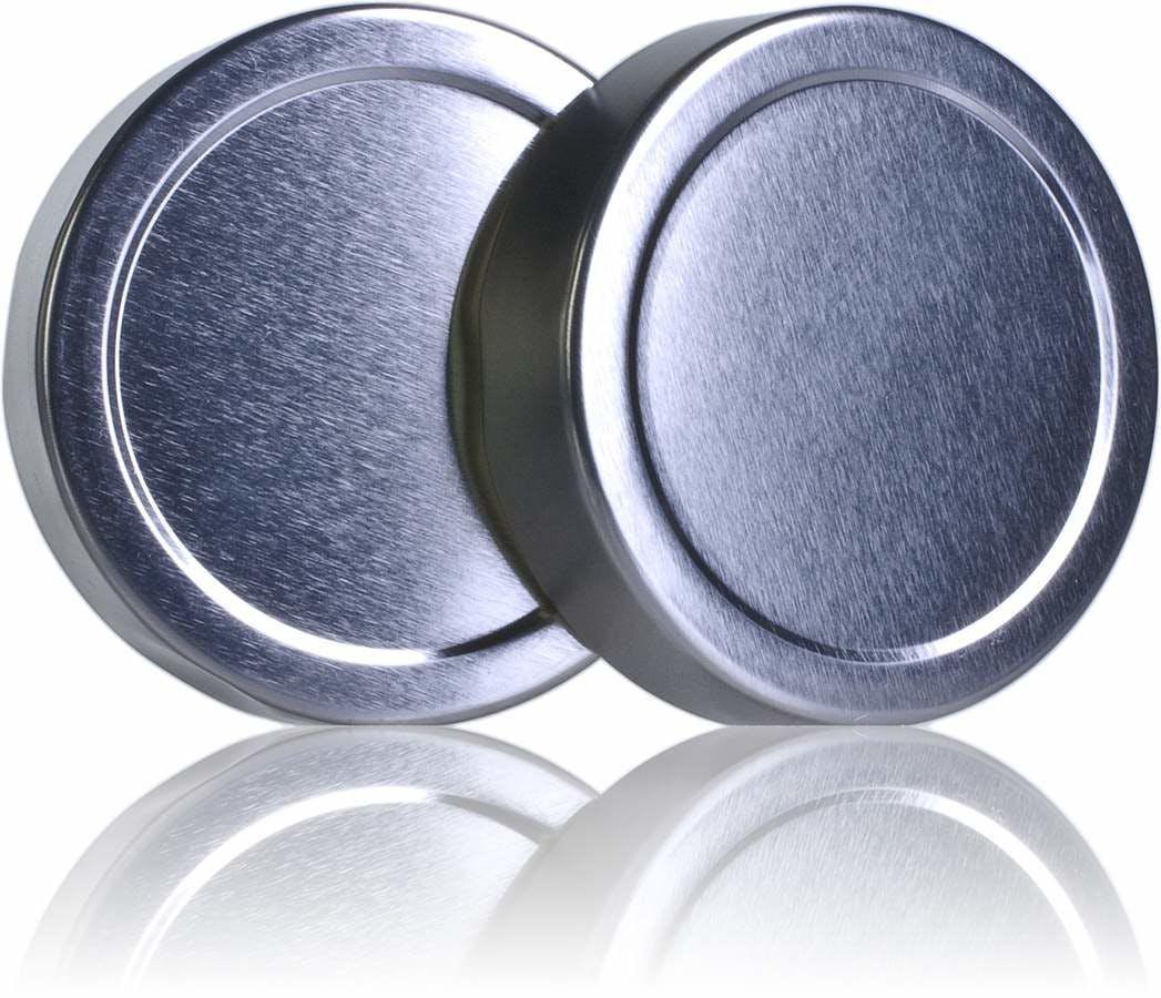 Tapa TO 70 ALTA silver pasteurization without button -sistemas-de-cierre-tapas