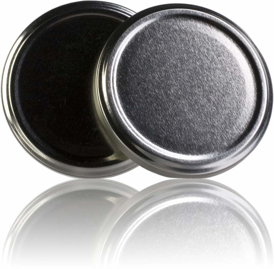 Tapa TO 77 Plata Pasteurización sin boton -sistemas-de-cierre-tapas