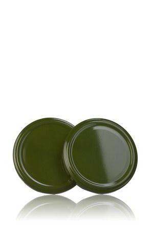Couvercle TO 77 Vert 371 Pasteurisation sans bouton  MetaIMGFr Tapas de cierre