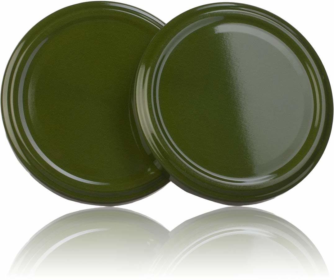 Tampa TO 77 Verde 371 Pasteurización sin boton  Sistemas de fecho Tampas