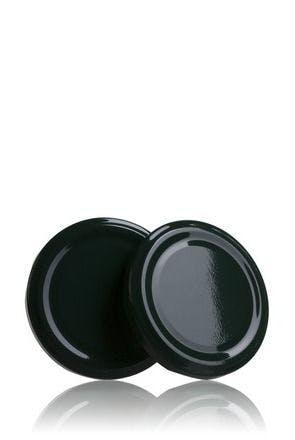 Couvercle TO 77 Vert Pasteurisation sans bouton  MetaIMGFr Tapas de cierre