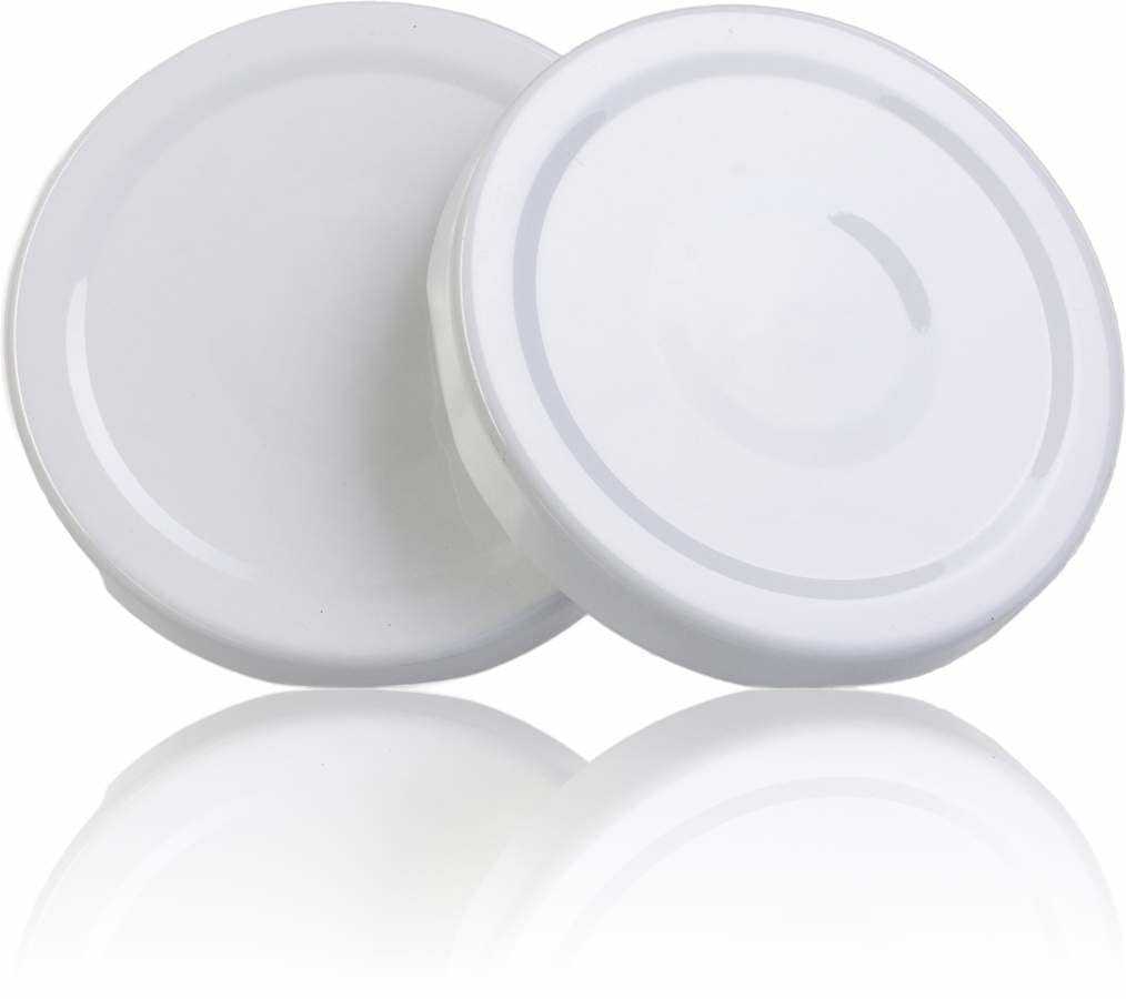 Lid TO 82 White Sterilisation with button  MetaIMGIn Tapas de cierre
