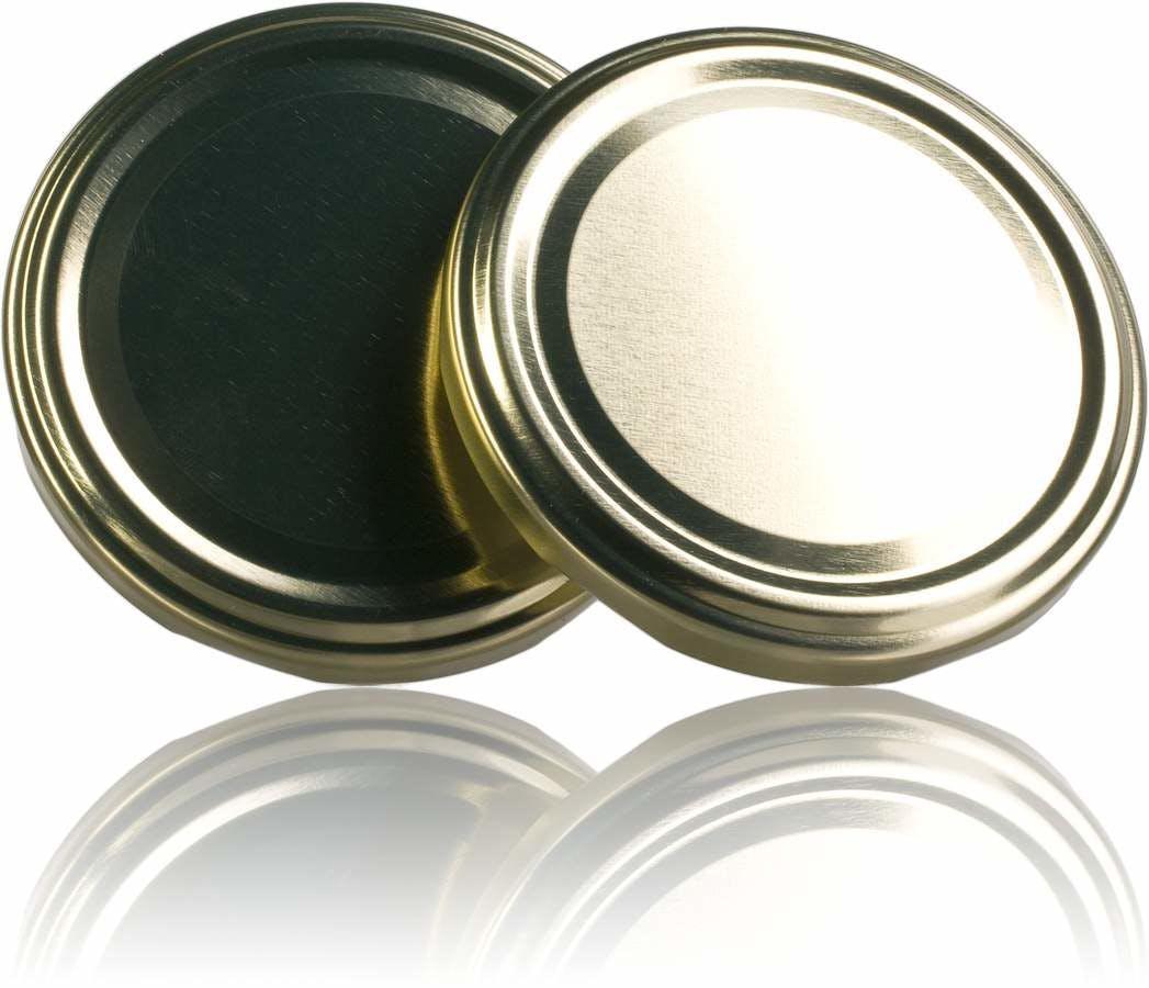 Lid TO 82 Golden Pasteurization without button  MetaIMGIn Tapas de cierre