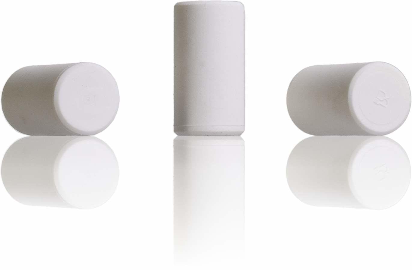 Tapon Blanco SINTETICO 42x22-sistemas-de-cierre-tapones