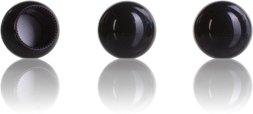 Bouchon boule noire 18/415