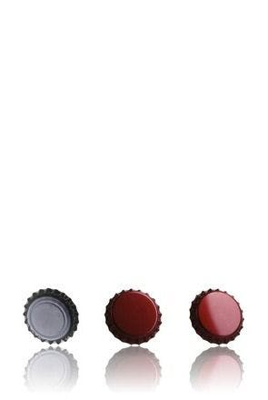 Crown 26 Stopper Red Ruby MetaIMGIn Tapones