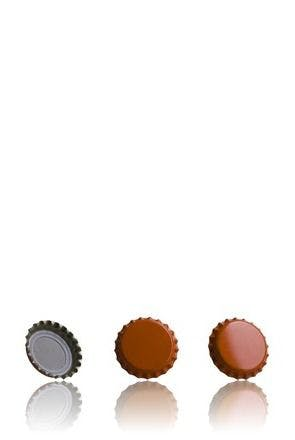 Bouchon Corona 26 Orange MetaIMGFr Tapones