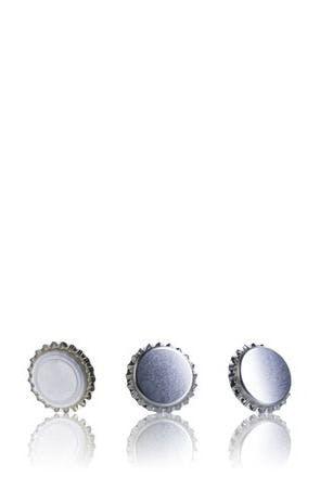 Tapón Corona 26 Plata-sistemas-de-cierre-tapones