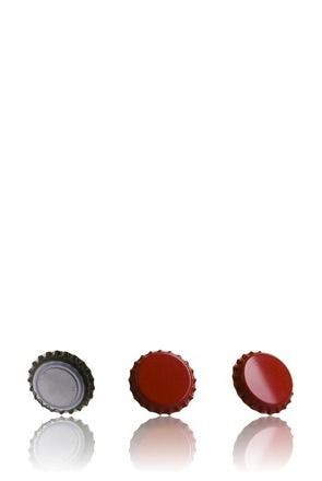Crown 26 Stopper Red MetaIMGIn Tapones