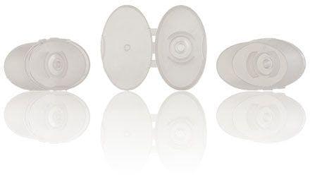 Bouchon plastique translucide Azura 4 mm