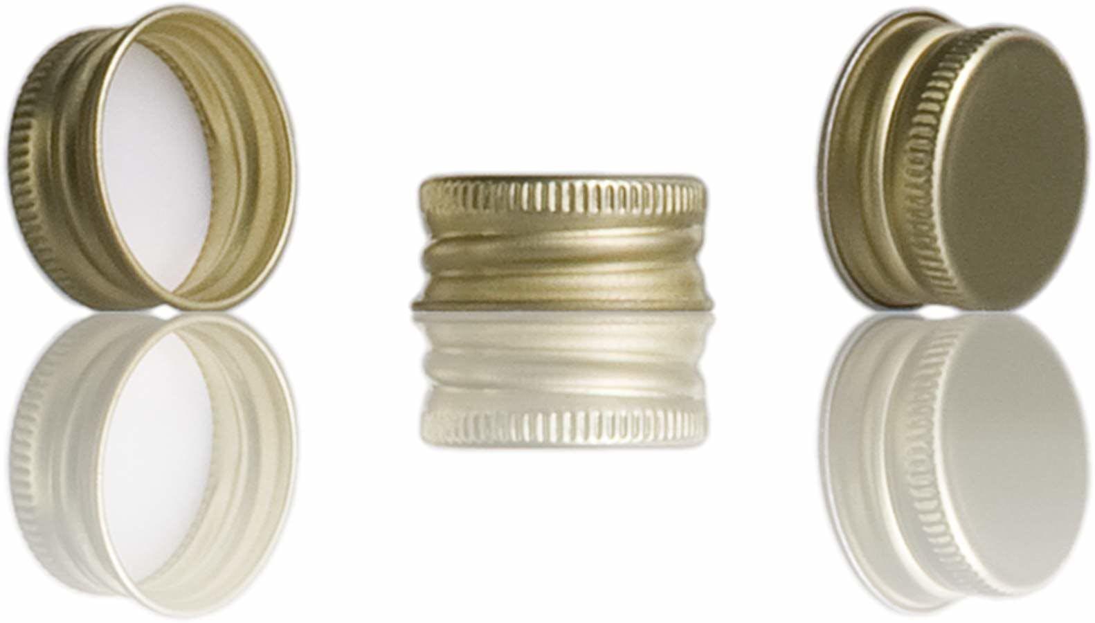 Rolha miniatura 16 17 oro rosca Sistemas de fecho Rolhas