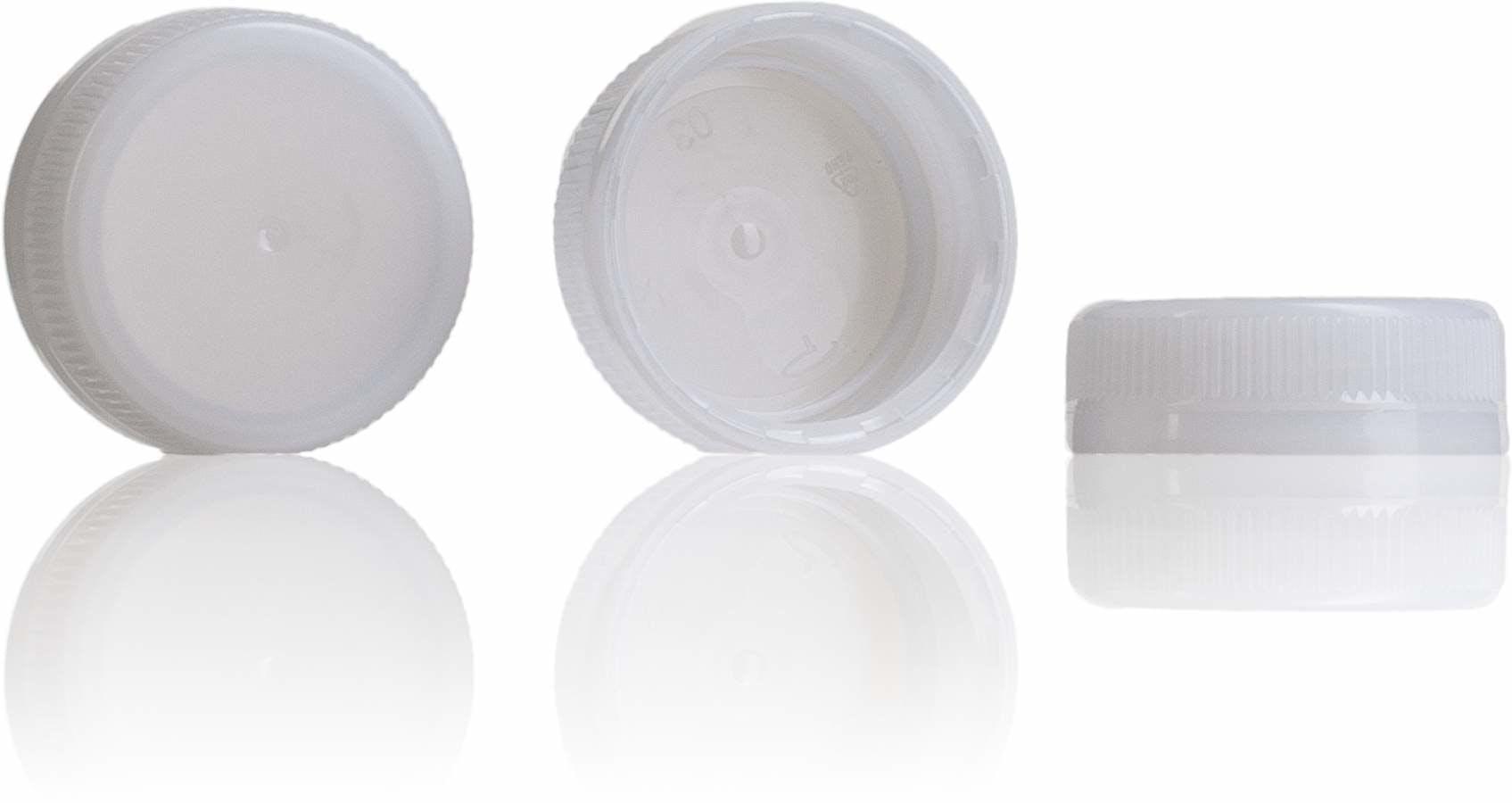 Tapon Blanco 38 mm 38 33 3 entradas-sistemas-de-cierre-tapones