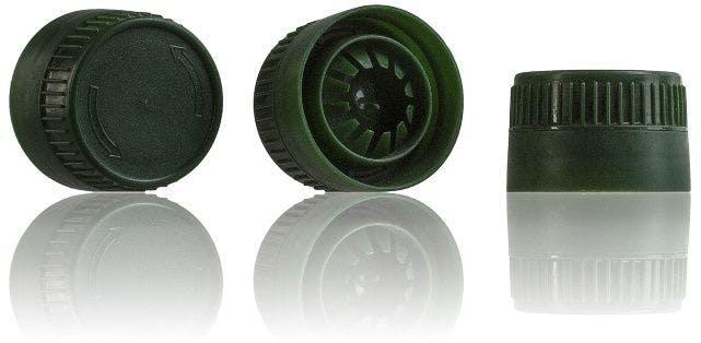 Tapon Verde 29/21 Dos Piezas -sistemas-de-cierre-tapones