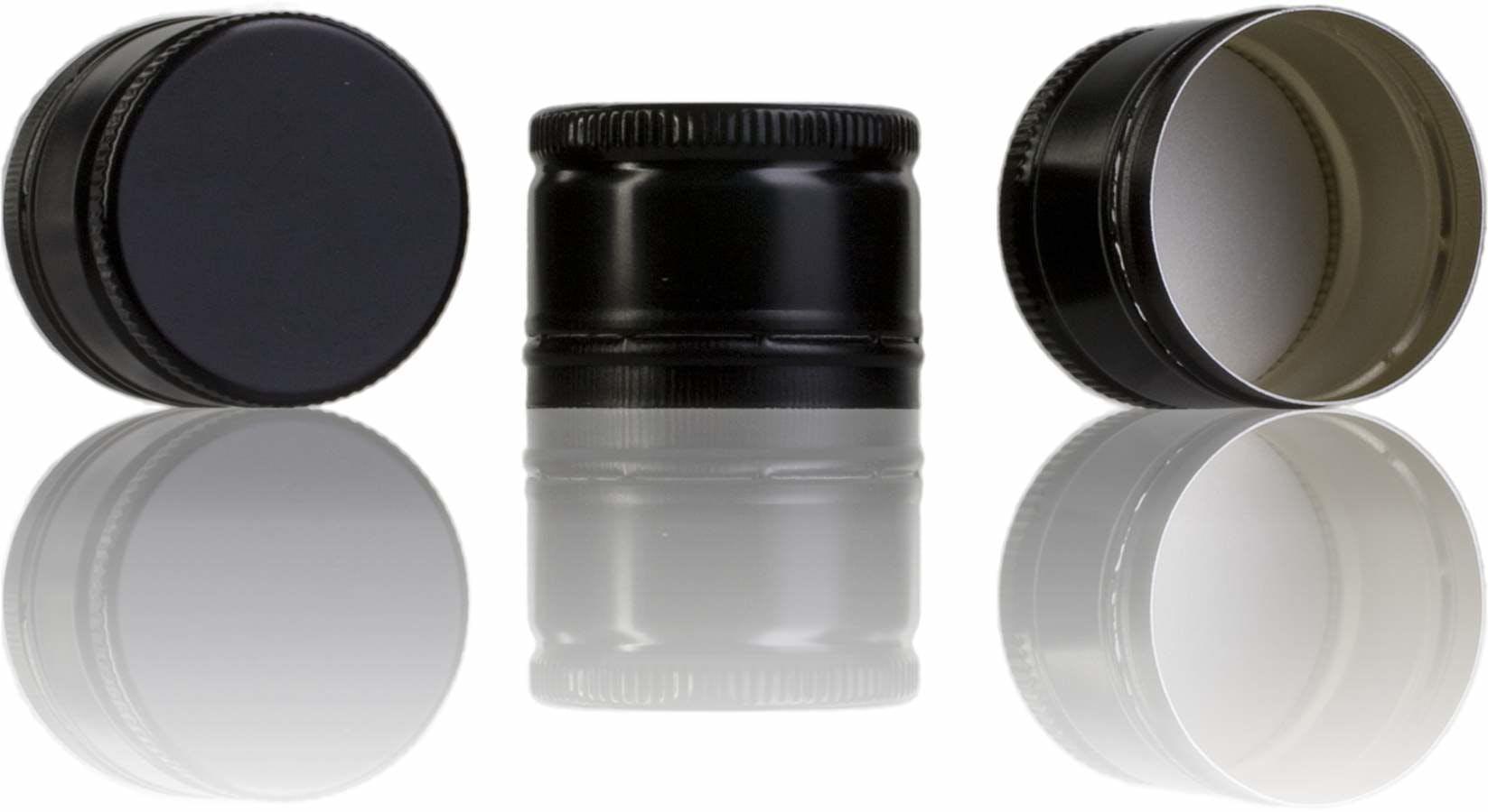 Tapon Pilfer 31,5 x 24 negro-sistemas-de-cierre-tapones