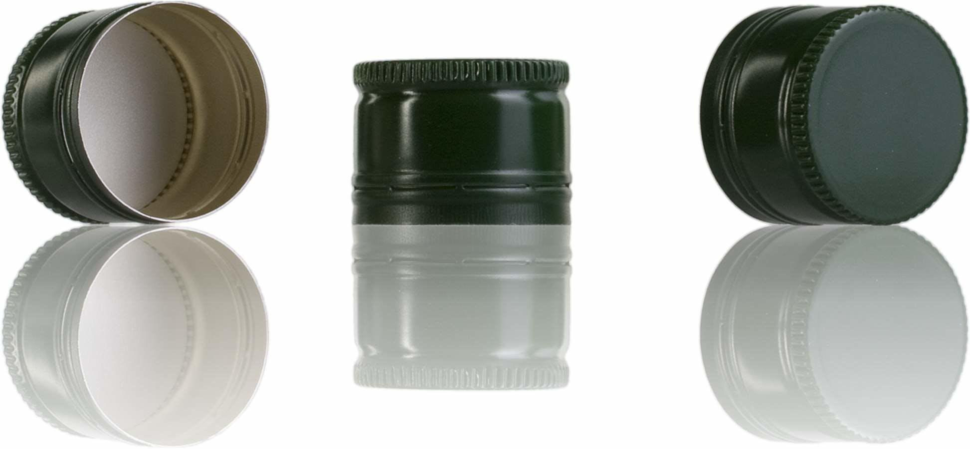Tapon Pilfer 31,5 x 24 verde -sistemas-de-cierre-tapones