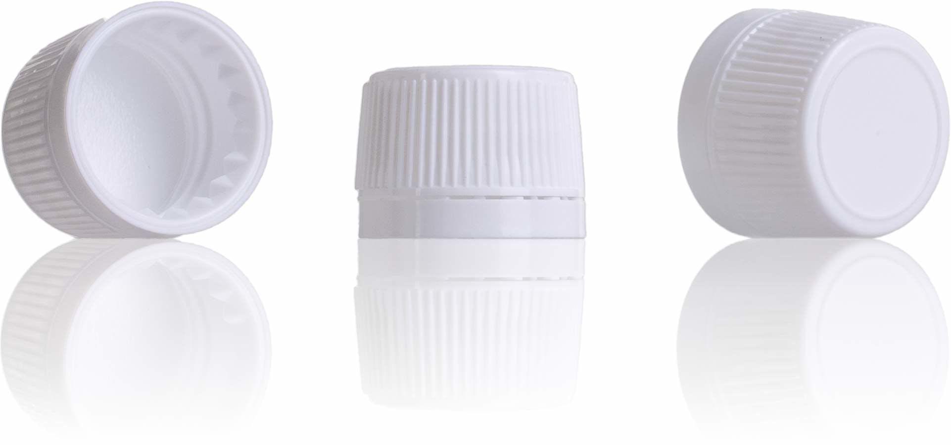 Tapon precinto blanco PP28-sistemas-de-cierre-tapones