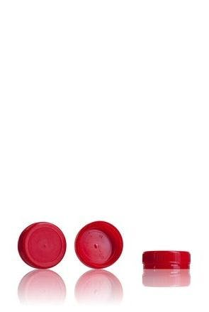 Stopper Red 38 mm 38 33 3 threads MetaIMGIn Tapones