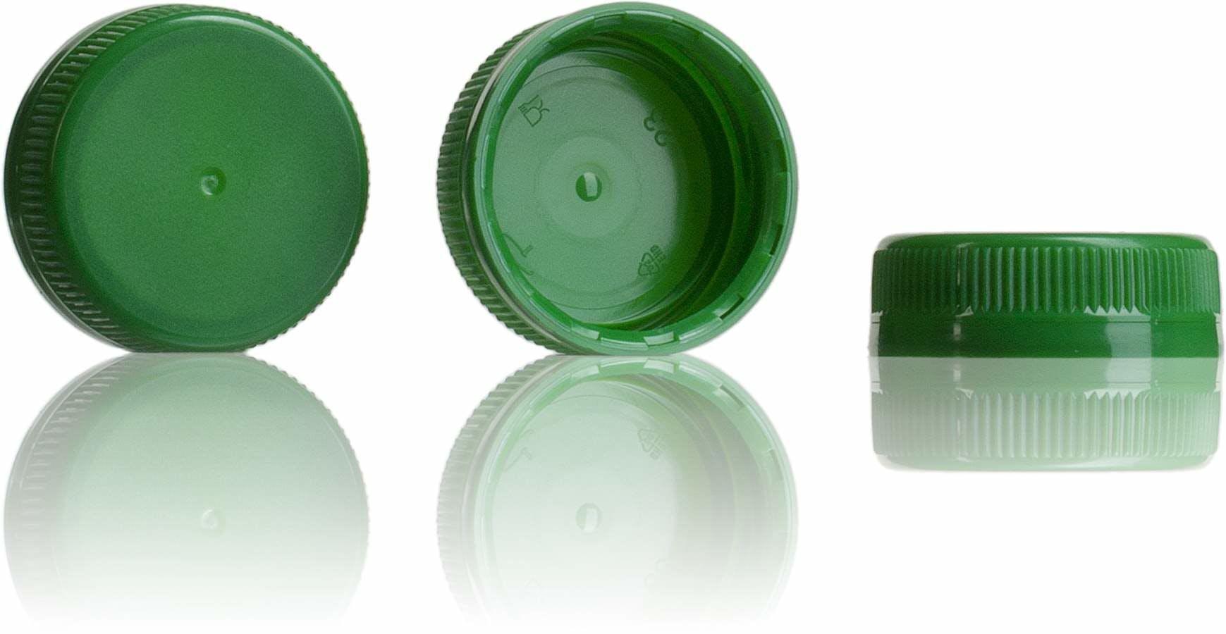 Tapon Verde 38 mm 38 33 3 entradas-sistemas-de-cierre-tapones