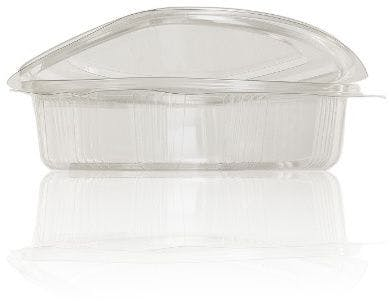 Terrine Hinge 750 ml packaging of plastic pots de plastic