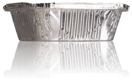Tarrina de aluminio 470 ml