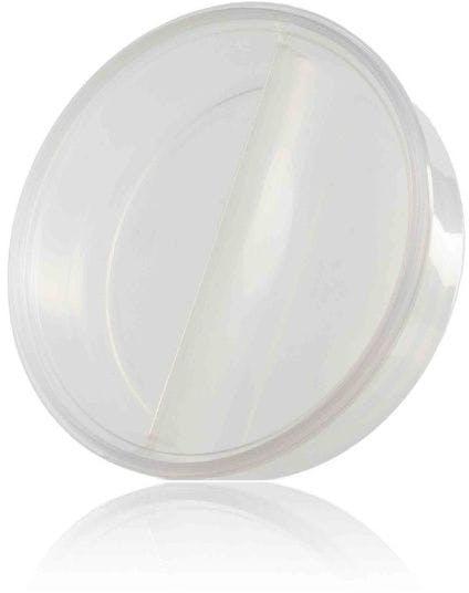 Recipiente plástico 800 ml compartimento duplo Embalagens de plastico/Embalagens plásticas descartáveis