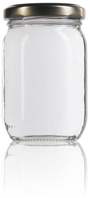 frasco de vidro padrão 212