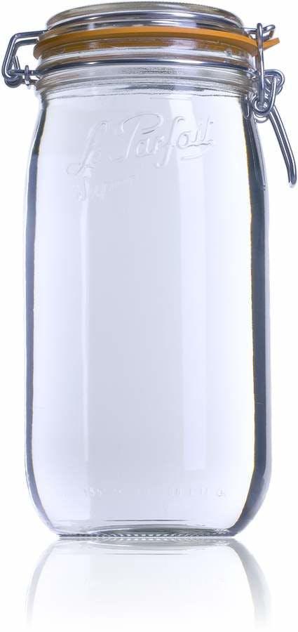 Le Parfait Super 1500 ml 085 mm-envases-de-vidrio-tarros-frascos-de-vidrio-y-botes-de-cristal-le-parfait-super-terrines-wiss