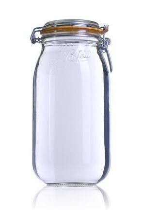 Bocal hermétique en verre Le Parfait Super 2000 ml
