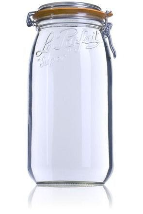 Le Parfait Super 3000 ml 100 mm-envases-de-vidrio-tarros-frascos-de-vidrio-y-botes-de-cristal-le-parfait-super-terrines-wiss