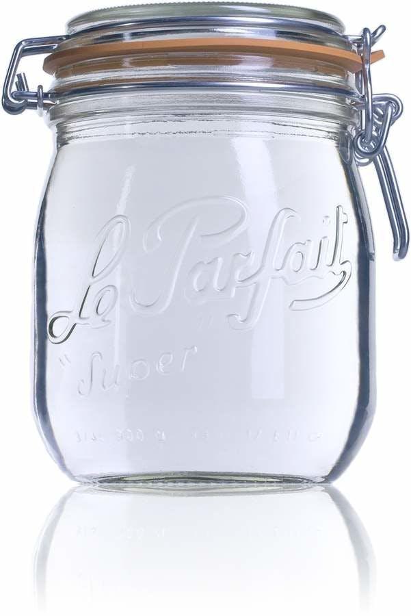 Bocal hermétique en verre Le Parfait Super 750 ml