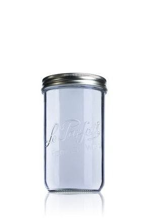 Airtight glass jar Le Parfait Wiss 1000 ml 100 mm 1000ml BocaLPW 100mm MetaIMGIn Tarros de vidrio hermeticos Le Parfait