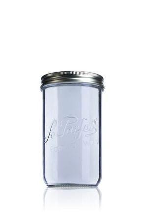 Tarro de vidrio hermético Le Parfait Wiss 1000 ml 100 mm-1000ml-BocaLPW-100mm-envases-de-vidrio-tarros-frascos-de-vidrio-y-botes-de-cristal-le-parfait-super-terrines-wiss