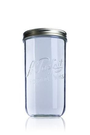 Le Parfait Wiss 1500 ml 110 mm MetaIMGFr Tarros de vidrio hermeticos Le Parfait