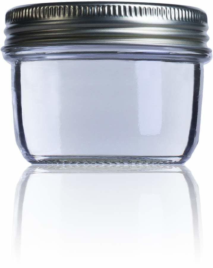 Frasco de vidro hermetico Le Parfait Wiss 200 ml 200ml BocaLPW 082mm Embalagens de vidro Boiões frascos de vidro y potes de cristal le parfait super terrines wiss
