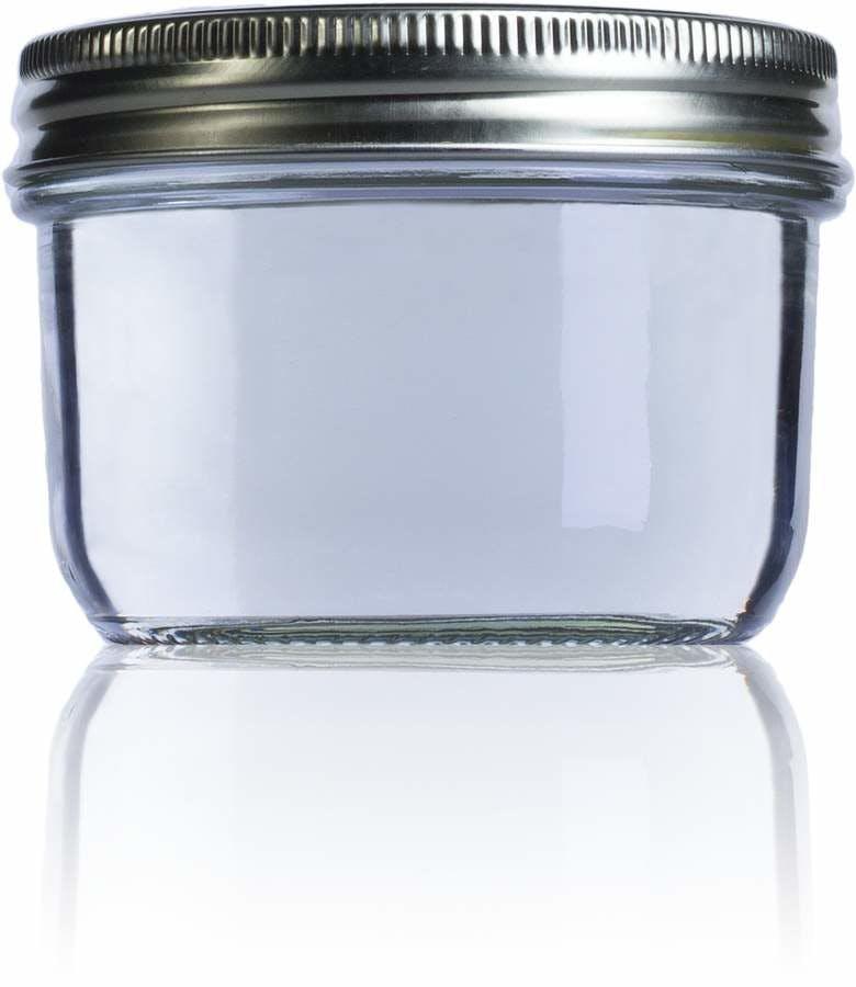 Airtight glass jar Le Parfait Wiss 350 ml 350ml BocaLPW 100mm MetaIMGIn Tarros de vidrio hermeticos Le Parfait