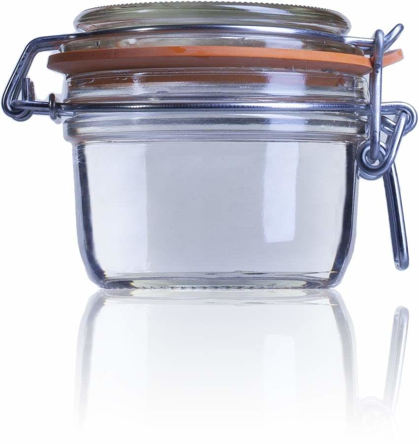 Airtight glass jar Terrine Le Parfait 125 ml 125ml BocaLPS 070mm MetaIMGIn Tarros de vidrio hermeticos Le Parfait