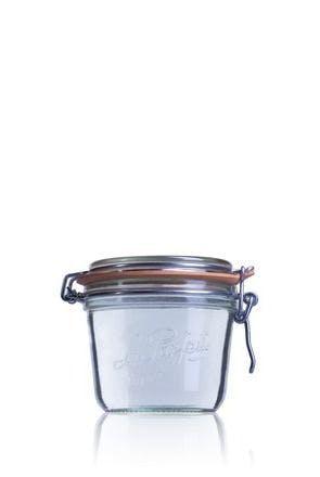 Tarro de vidrio hermético Le Parfait Terrine 500 ml-500ml-BocaLPS-100mm-envases-de-vidrio-tarros-frascos-de-vidrio-y-botes-de-cristal-le-parfait-super-terrines-wiss