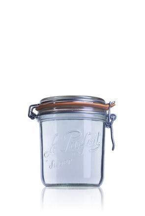 Airtight glass jar Terrine Le Parfait 750 ml 750ml BocaLPS 100mm MetaIMGIn Tarros de vidrio hermeticos Le Parfait